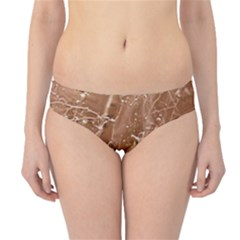 Ice Iced Structure Frozen Frost Hipster Bikini Bottoms