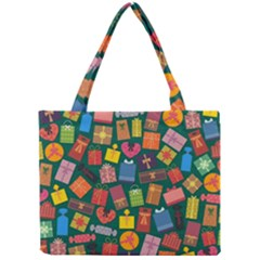 Presents Gifts Background Colorful Mini Tote Bag