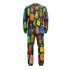 Presents Gifts Background Colorful Onepiece Jumpsuit (kids)