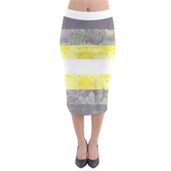 Cute Flag Midi Pencil Skirt