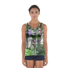 Purple Clematis Women s Sport Tank Top