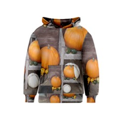 Pumpkins And Gourds Kids  Pullover Hoodie