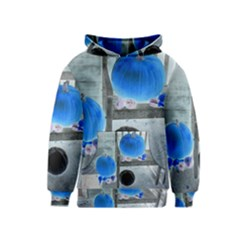 Pumpkins And Gourds Negative Kids  Pullover Hoodie