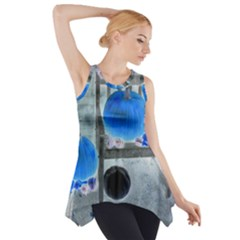 Pumpkins And Gourds Negative Side Drop Tank Tunic
