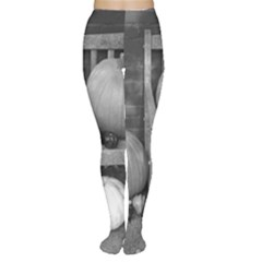 Pumpkind And Gourds Bw Women s Tights