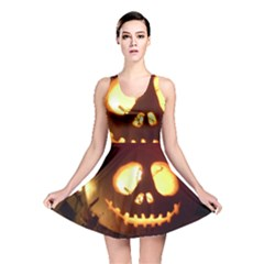 Pumkin Jack  Reversible Skater Dress
