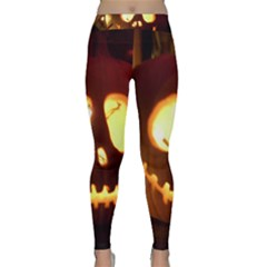 Pumkin Jack  Classic Yoga Leggings