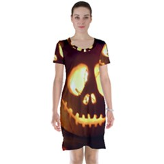 Pumkin Jack  Short Sleeve Nightdress