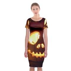 Pumkin Jack  Classic Short Sleeve Midi Dress