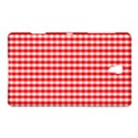 Christmas Red Velvet Large Gingham Check Plaid Pattern Samsung Galaxy Tab S (8.4 ) Hardshell Case  View1