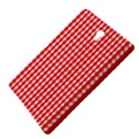 Christmas Red Velvet Large Gingham Check Plaid Pattern Samsung Galaxy Tab S (8.4 ) Hardshell Case  View4