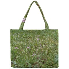 Pink Wildflowers Mini Tote Bag