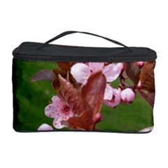 Pink Flowers  Cosmetic Storage Case