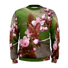 Pink Flowers  Men s Sweatshirt