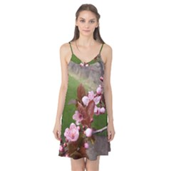 Pink Flowers  Camis Nightgown