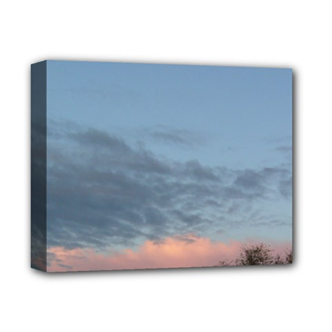 Pink Cloud Sunset Deluxe Canvas 14  x 11