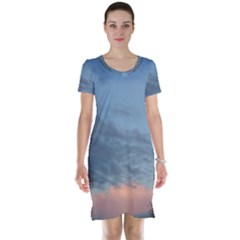 Pink Cloud Sunset Short Sleeve Nightdress