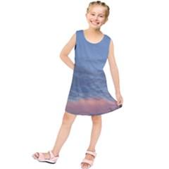 Pink Cloud Sunset Kids  Tunic Dress