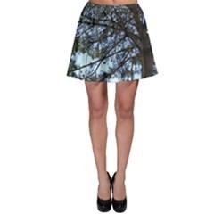 Pine Tree Reaching Skater Skirt