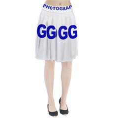Photography Pleated Skirt