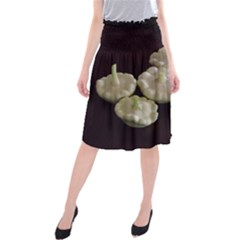 Pattypans  Midi Beach Skirt