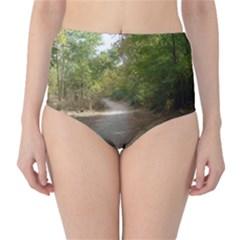 Path 1 High-Waist Bikini Bottoms