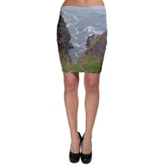 Pacific Ocean 2 Bodycon Skirt