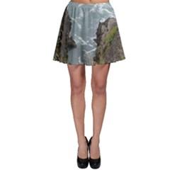 Pacific Ocean 2 Skater Skirt