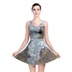 Pacific Ocean 2 Reversible Skater Dress