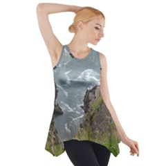 Pacific Ocean 2 Side Drop Tank Tunic