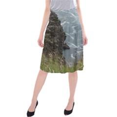 Pacific Ocean 2 Midi Beach Skirt