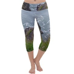 Pacific Ocean 2 Capri Yoga Leggings