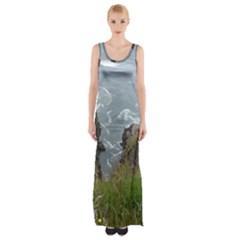 Pacific Ocean 2 Maxi Thigh Split Dress