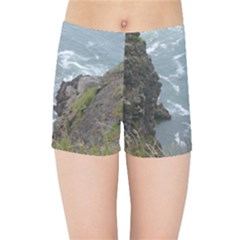 Pacific Ocean 2 Kids Sports Shorts