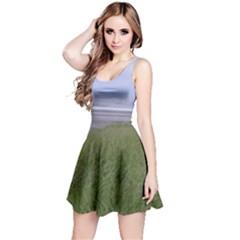 Pacific Ocean  Reversible Sleeveless Dress
