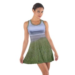 Pacific Ocean  Cotton Racerback Dress
