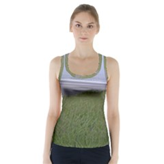 Pacific Ocean  Racer Back Sports Top