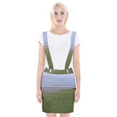 Pacific Ocean  Braces Suspender Skirt