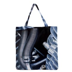 Motorcycle Details Grocery Tote Bag