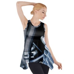 Motorcycle Details Side Drop Tank Tunic