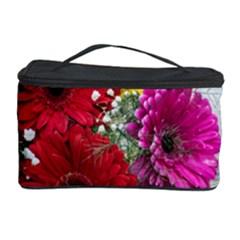 Flowers Gerbera Floral Spring Cosmetic Storage Case