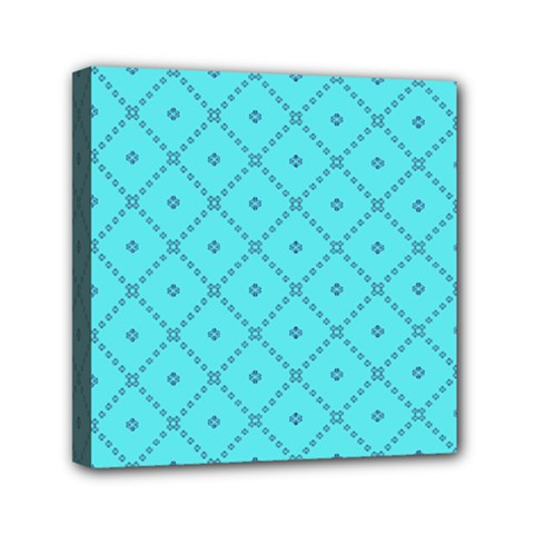 Pattern Background Texture Mini Canvas 6  x 6