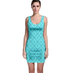 Pattern Background Texture Sleeveless Bodycon Dress