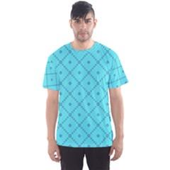 Pattern Background Texture Men s Sports Mesh Tee