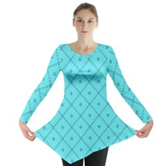 Pattern Background Texture Long Sleeve Tunic