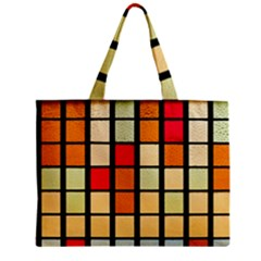 Mozaico Colors Glass Church Color Zipper Mini Tote Bag
