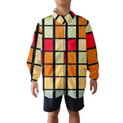 Mozaico Colors Glass Church Color Wind Breaker (kids)