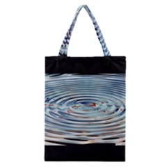 Wave Concentric Waves Circles Water Classic Tote Bag