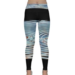 Wave Concentric Waves Circles Water Classic Yoga Leggings
