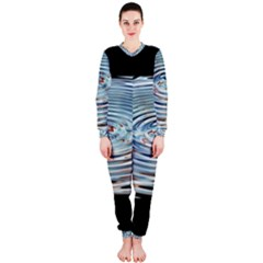Wave Concentric Waves Circles Water Onepiece Jumpsuit (ladies)